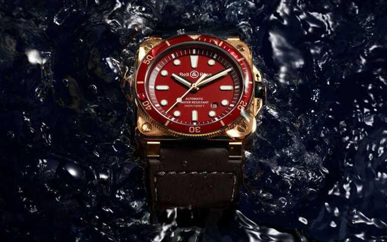 Bell & Ross潛水錶 探索變化莫測水底環境