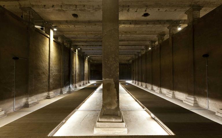 蝦毀! 台北市也有地下水世界宮殿? 觀音山蓄水池~