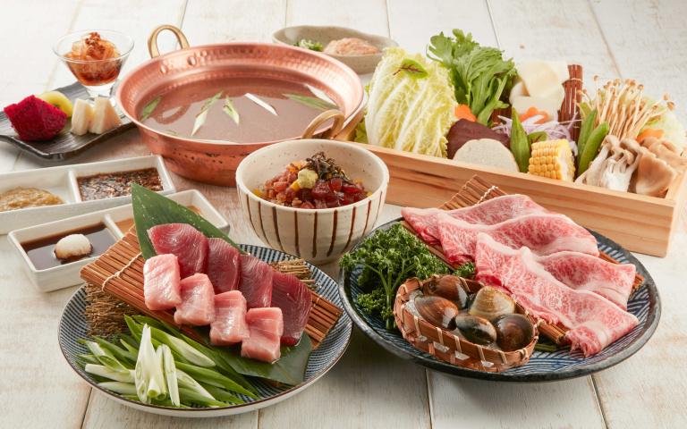 鍋物老饕來嘗鮮!蔥鮪鍋、A5和牛海鮮涮涮鍋、雲林粉紅豬火鍋 美味大滿足