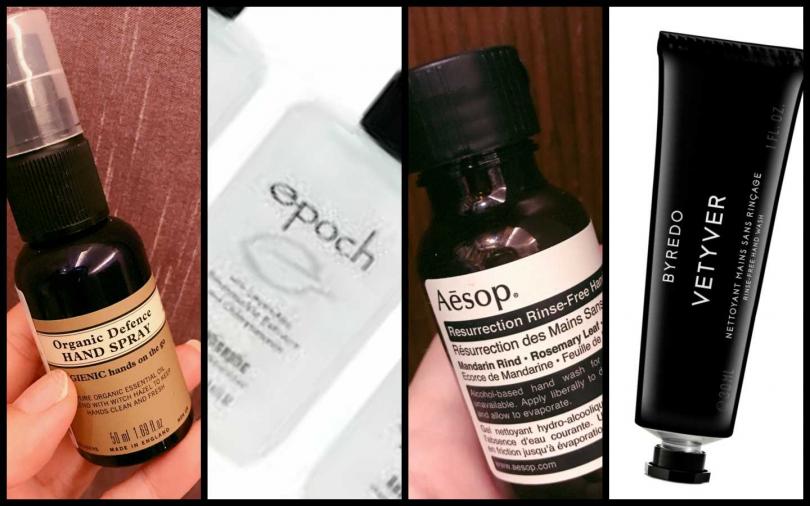 除了戴口罩也需要乾洗手 靠這幾款超好聞的時尚乾洗手對抗病毒!
