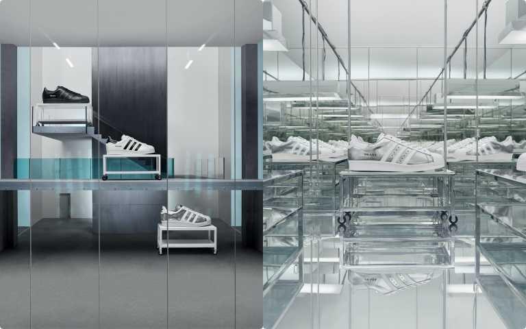 PRADA x adidas Originals 聯名又一波!黑、白、銀配色重新詮釋經典Superstar鞋款