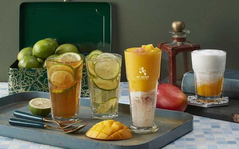 不用再跑茶餐廳!手搖飲走「港風」,芒果奶撈、凍檸茶四風味讓你秒飛香港