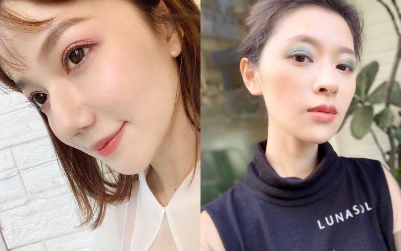 超實用眼妝!粉紅、綠色眼影畫出時尚新高度,擺脫大媽俗氣感!
