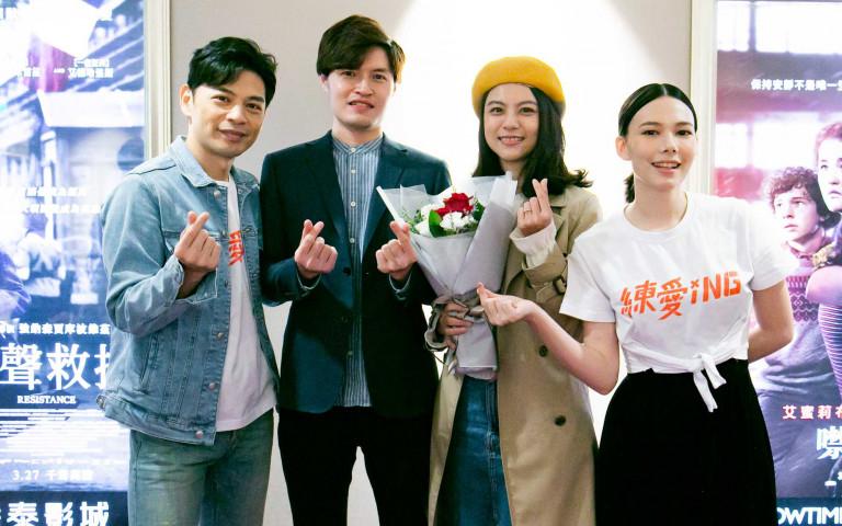 《練愛iNG》真實橋段求婚上演 阿KEN、紀培慧在旁見證