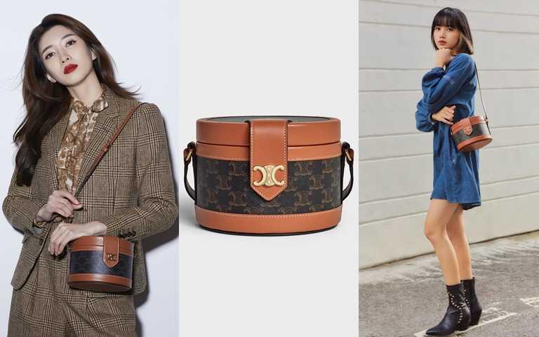 CELINE這咖TAMBOUR包range超大!LISA背是時髦可愛、江疏影背是優雅復古 人美包正不管哪套都好看!