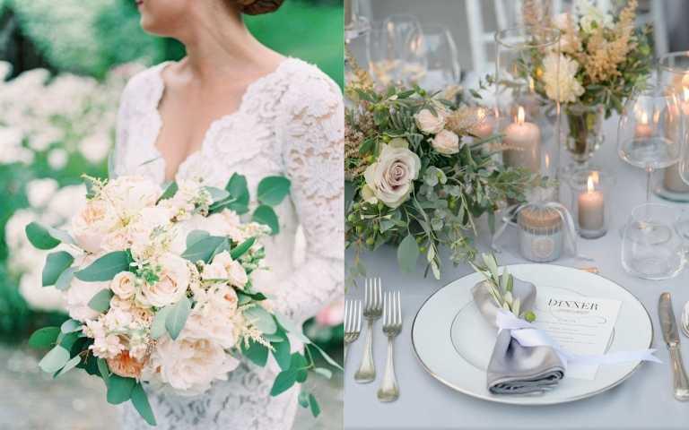DIY夢幻婚禮!婚禮佈置自己設計也能仙氣爆表