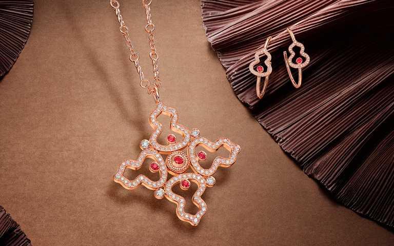 絲綢異域風情熠熠錦簇!Qeelin「Wulu Legend」系列珠寶 日常款vs.高訂款煥新美好心境