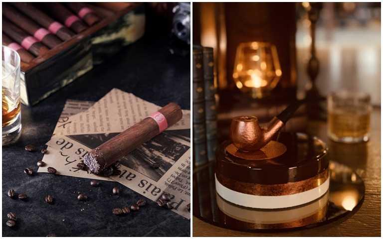 連煙灰都可以吃!超酷「雪茄蛋糕」搏眼球,居然連「煙斗」都有