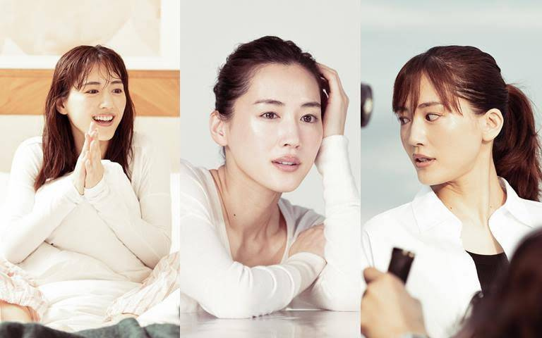 SK-II攜手日本零負評女神綾瀨遙重現10年前首支代言廣告,36歲的真實膚況竟比25歲時還更好更透亮!!