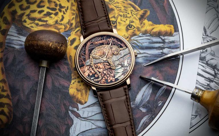 專為台灣打造的絕頂奢華!BLANCPAIN雲豹錶於101全球首度曝光 見證最耀眼的藝術殿堂