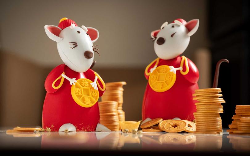 招財「鼠」來寶!農曆過年吃老鼠造型甜點 甜蜜、好運通通來