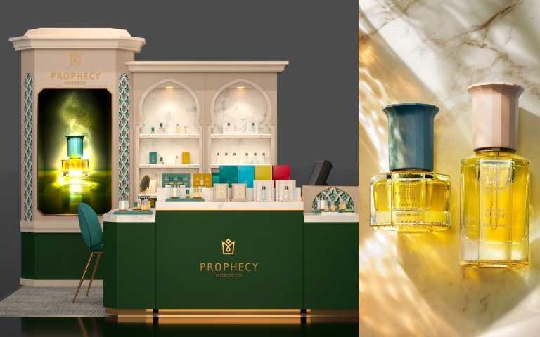 神級西班牙頂級美容油品牌Prophecy Morocco鉑翡斯亞洲第一間快閃店:新光三越A11重磅登場