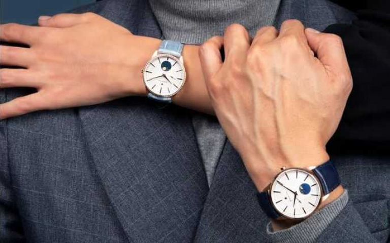 星月交輝守情緣!ZENITH真力時「ELITE系列」月相對錶 浪漫七夕摩登「錶」情意