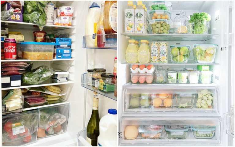 整理冰箱終極撇步,不要再把東西塞滿滿了!