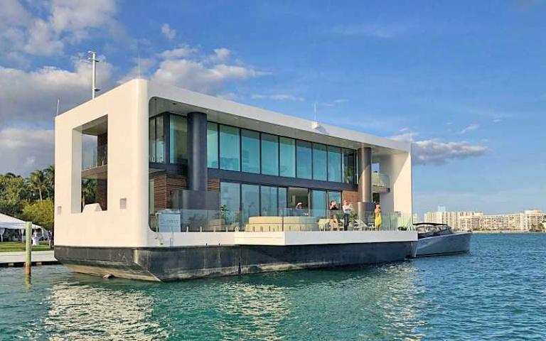 狂到不行的「頂級海上豪宅遊艇」!讓你隨時都可以來一場「魯賓遜漂流記」