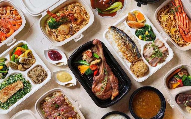 飯店美食百貨再升級 日料、潮州滷水、中西餐盒齊集 美式牛排買一送一