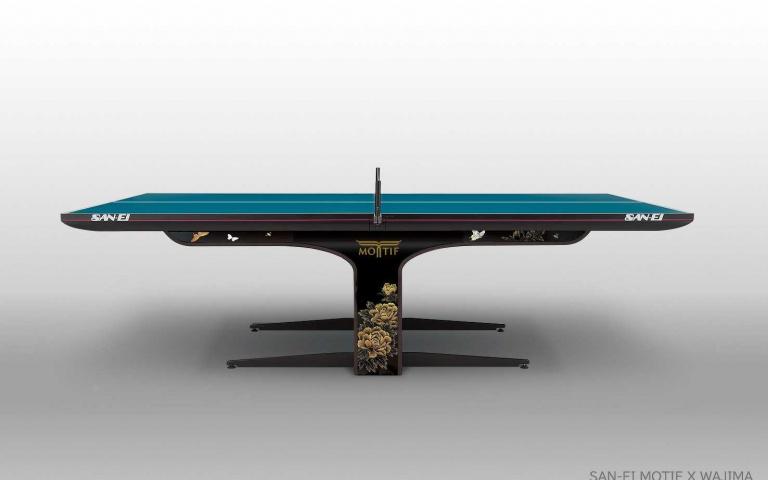 2020東京奧運桌球桌採用MOTIF設計,結合傳統工法打造!將日式工藝美學展現!