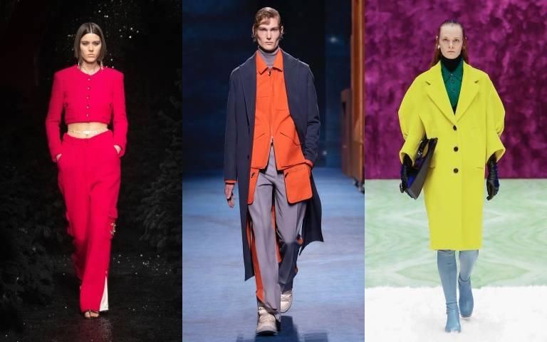 2021秋冬流行色:用「大膽撞色」、「單一色調」點亮沈悶秋冬穿搭