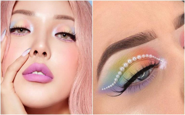 畫膩了無聊眼妝?快來學PONY大神破萬按讚數的彩虹漸層眼妝畫法
