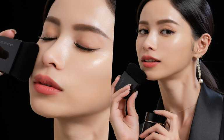 日本正在流行貴氣肌底妝,一塗上肌膚有水波光的穿透感,太美了!