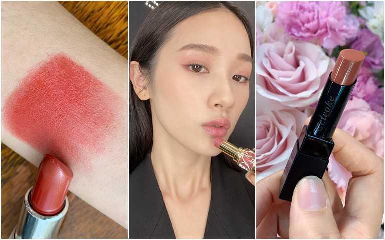 秒殺級唇膏登場!寶寶粉、柿子紅、玫瑰棕…年底前的唇膏決勝戰就買這幾支!