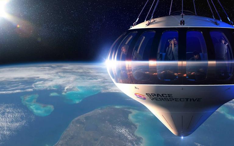「太空船觀光」開放預訂!6小時350萬台幣,不是億萬富翁也能實現「太空夢」!