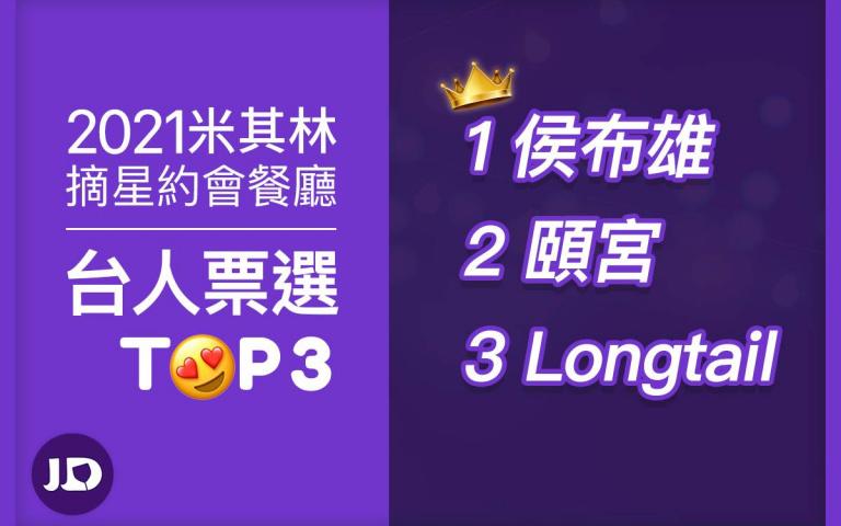 2021台北台中米其林名單揭曉! 單身族最想摘星約會餐廳是.....