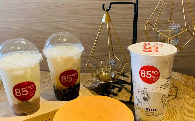 85℃飲料第二杯只要20元!珍珠和芋頭控快喝爆 新品蛋糕限時特價中