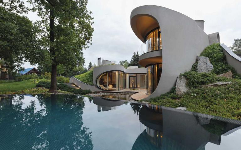 「在風景中的房子」 建築本身就像藝術品~