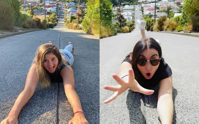 每天「爬」回家是日常!紐西蘭鮑德溫街榮登「世界最陡街道」,攀岩高手歡迎朝聖!