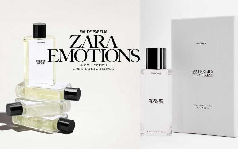 Jo Malone創始人與ZARA 合作最新香水Emotions系列!用半價就買到一樣的香氣!