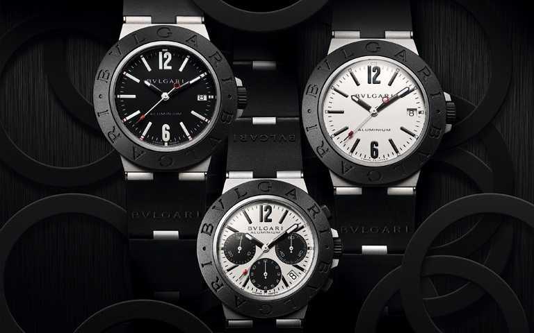 超前跨越登峰時限!寶格麗「ALUMINIUM」系列腕錶2020新作 對比異材突破框架