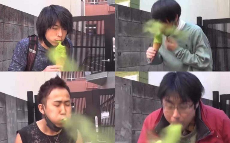 吃冰吃到吐綠煙 到底怎麼回事? 日本嗆人抹茶冰!