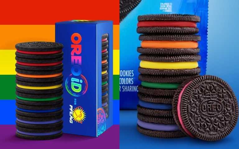 這不是P圖!7種不同顏色的「彩虹OREO」,限量3000盒夢幻上市!