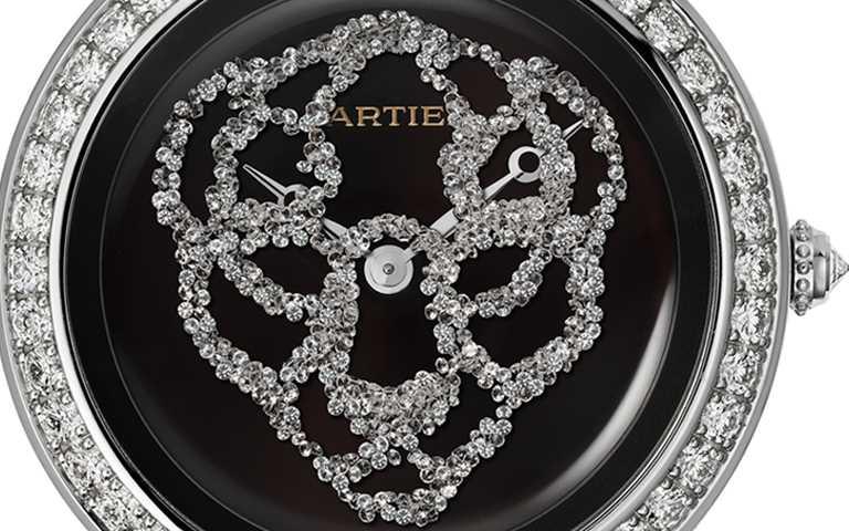 收藏美洲豹的各種華麗姿態!卡地亞Révélation d'une Panthère美洲豹寶腕錶 鑽石流沙閃現靈動形蹤