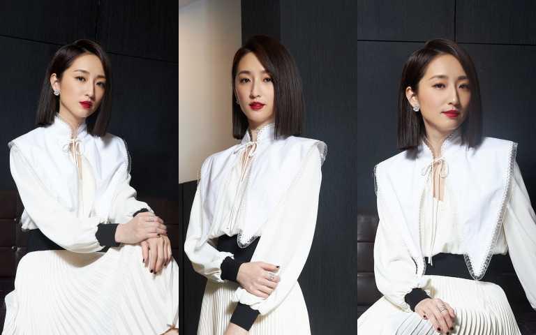 金鐘獎入圍女主角柯佳嬿很會穿!黑白配原來這樣搭更好看 知性優雅新態度跟柯姐姐學!