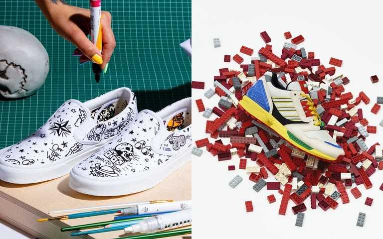 想要一雙不平凡的球鞋!拼樂高、DIY彩繪 當你自己的球鞋設計師!