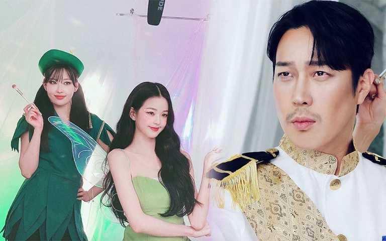 不能只有我看到!RM哈哈超負擔「王子仿妝」,神手彩妝師還把韓星畫成真人版Tinkerbell