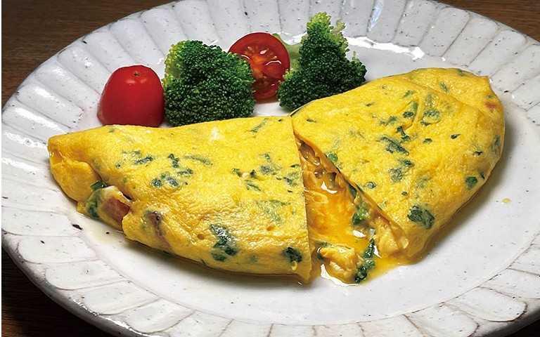 饕家鮮野菜4/陳志煌 歐姆蛋飄香