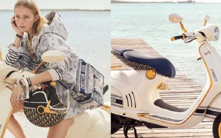 DIOR跨界偉士牌!搭上經典 Dior Oblique 圖騰 重現義式美好生活