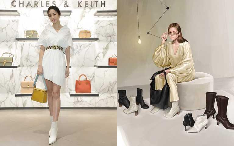 侯佩岑開箱CHARLES & KEITH秋冬新包!全新系列結合時尚藝術 每款鞋包時髦又好搭!