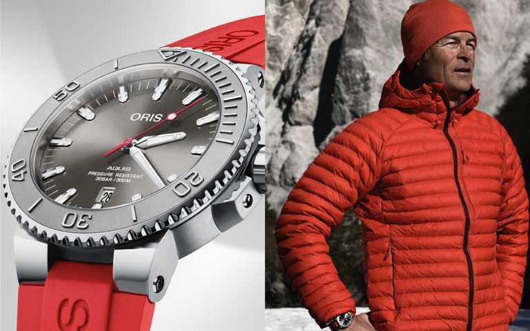 聖誕錶禮當「紅」不讓!ORIS聯名極境探險泳將 火紅Aquis Relief潛水錶熱血應援夢想
