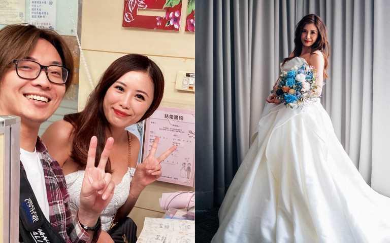 祕嫁新銳導演 美女主播宋燕旻火辣婚紗照曝光