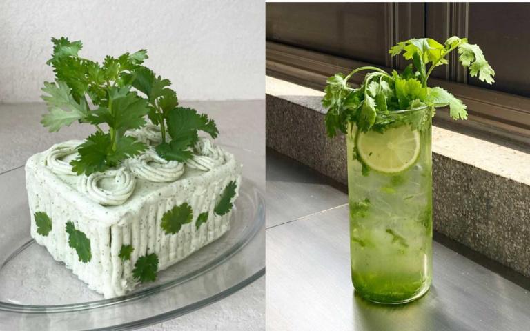 先崩潰三秒鐘!網美咖啡廳推出「香菜料理」太母湯,奶油蛋糕、氣泡飲都「慘遭毒手」!