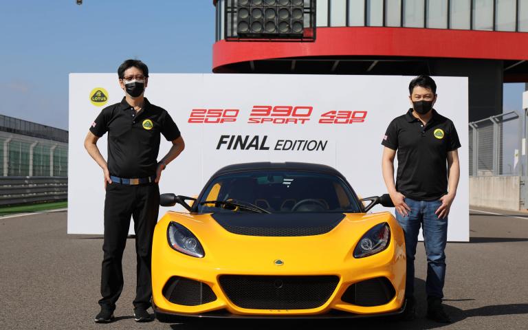 時間淬煉成就經典高峰 Lotus Exige Sport 390 Final Edition抵臺