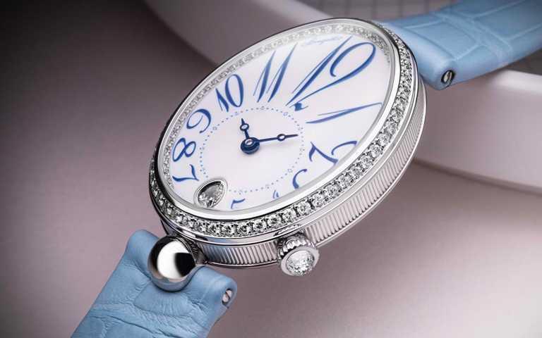 首次運用大明火琺瑯 為橢圓形錶盤錦上添花!寶璣那不勒斯王后系列 傳奇女錶開啟湛藍新篇章