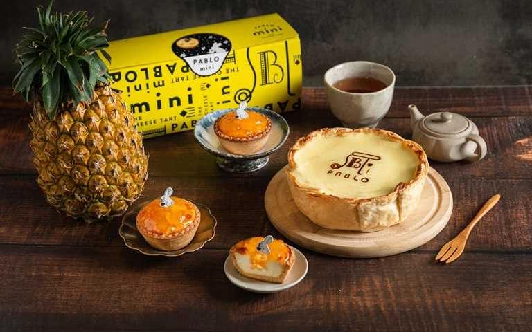起司塔與土鳳梨在一起了!日本知名甜點玩混搭 「鳳梨起司餡月餅」送禮更療癒