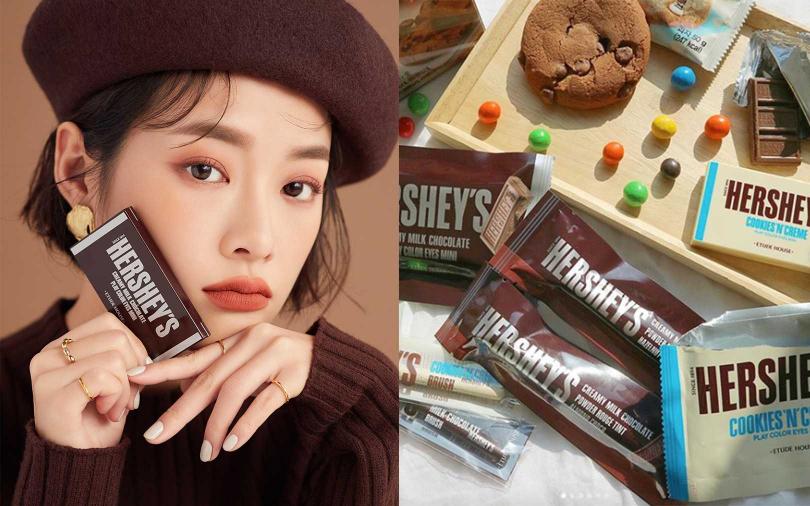 「追求撕開的快感」韓妞超瘋巧克力彩妝,彩妝界的顏值擔當!