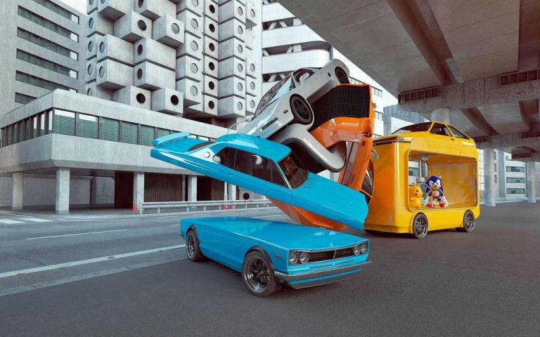 熱愛經典跑車元素,甚至將它納入設計點子之中!以彈性、扭轉的風格設計更不一樣的汽車意象~