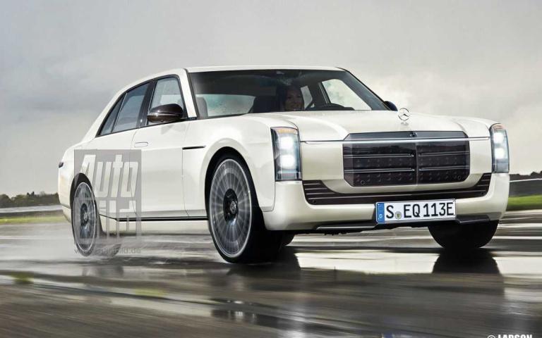 「電動」車當道!Mercedes-Benz W114如果變成這樣!真的好看極了~